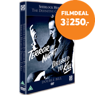 Produktbilde for Sherlock Holmes: Dressed To Kill/Terror By Night (UK-import) (DVD)