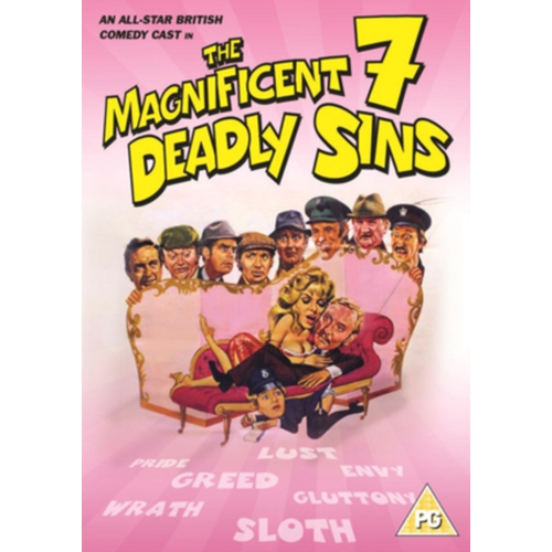 The Magnificent Seven Deadly Sins (UK-import) (DVD)