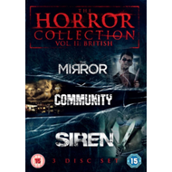 Produktbilde for Horror Collection: Volume 2 - British (UK-import) (DVD)