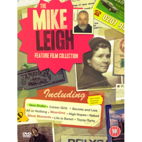 Mike Leigh Feature Film Collection (UK-import) (DVD)