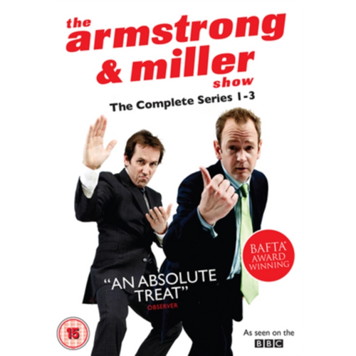 The Armstrong And Miller Show: Series 1-3 (UK-import) (DVD)