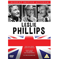 Produktbilde for Great British Actors: Leslie Phillips (UK-import) (DVD)
