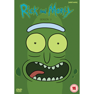 Produktbilde for Rick And Morty - Sesong 3 (UK-import) (DVD)