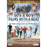 50's And 60's Films With A Beat Collection (UK-import) (DVD)