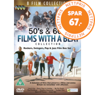 Produktbilde for 50's And 60's Films With A Beat Collection (UK-import) (DVD)