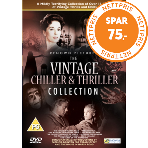 The Vintage Chiller & Thriller Collection (UK-import) (DVD)