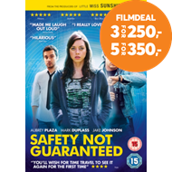 Produktbilde for Safety Not Guaranteed (UK-import) (DVD)