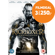 Produktbilde for Kickboxer - Vengeance (UK-import) (DVD)