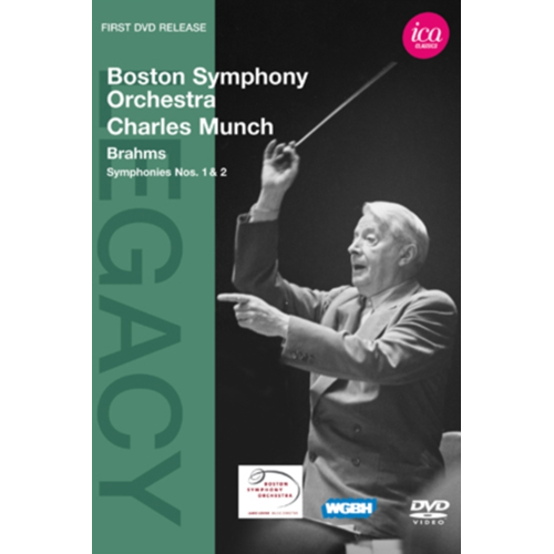 Charles Munch: Brahms Symphonies Nos. 1 And 2 (Boston Symp.Orch.) (UK-import) (DVD)