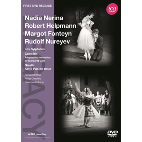Les Sylphides/Coppélia/Giselle (UK-import) (DVD)