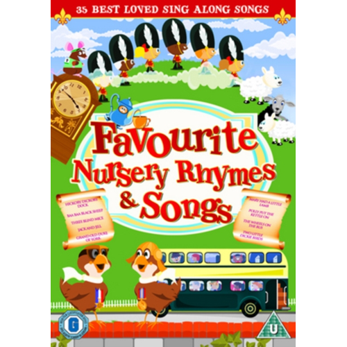 Favourite Nursery Rhymes And Children's Songs (UK-import) (DVD)