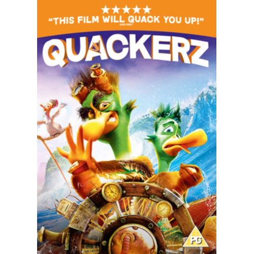 Quackerz (UK-import) (DVD)