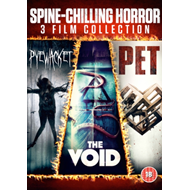 Spine Chilling Horror: 3 Film Collection (UK-import) (DVD)