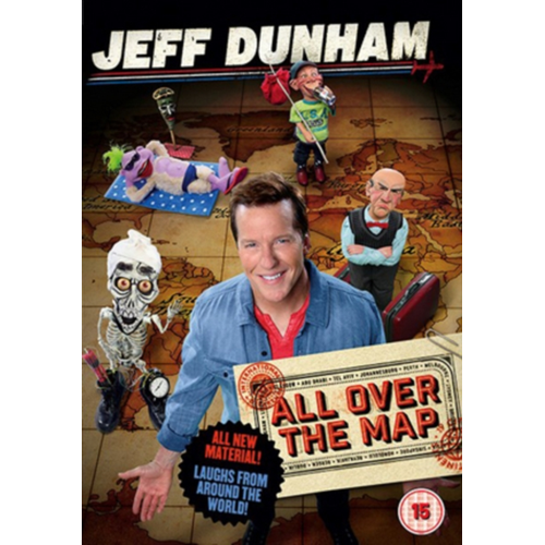 Jeff Dunham: All Over The Map (UK-import) (DVD)