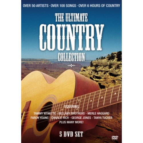 Ultimate Country Collection (UK-import) (DVD)