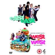 Produktbilde for East Is East/West Is West (UK-import) (DVD)