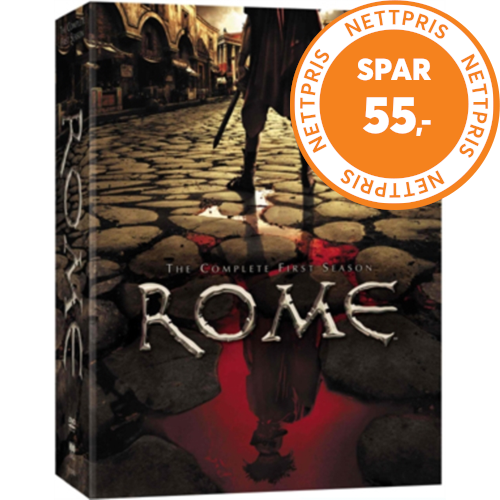 Rome: The Complete First Season (UK-import) (DVD)