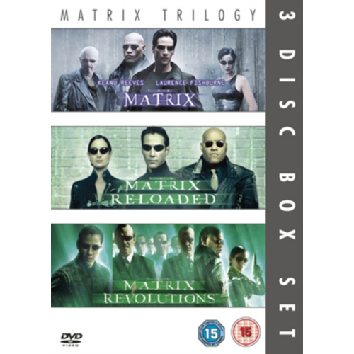 Matrix Trilogy (UK-import) (DVD)