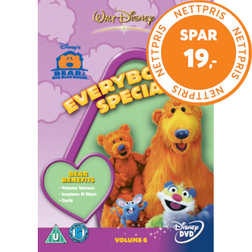 Bear In The Big Blue House: Everbody's Special (UK-import) (DVD)