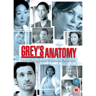 Grey's Anatomy - Sesong 2 (UK-import) (DVD)