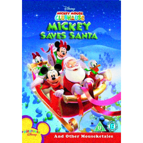 Mickey Mouse Clubhouse: Mickey Saves Santa And Other Mouseketales (UK-import) (DVD)