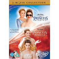 Produktbilde for The Princess Diaries/Princess Diaries 2 - Royal Engagement (UK-import) (DVD)