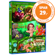 Produktbilde for Tarzan/Tarzan 2/Tarzan And Jane (Disney) (UK-import) (DVD)