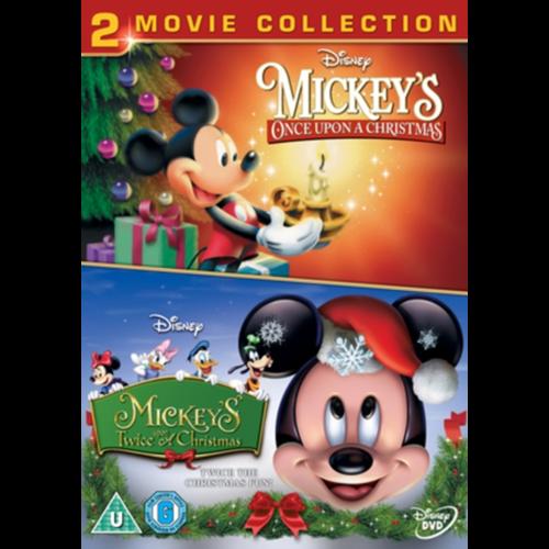 Mickeys Once Upon A Christmas.Mickey S Once Upon A Christmas Twice Upon A Christmas Uk Import Dvd