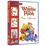 Produktbilde for Winnie The Pooh/The Tigger Movie/Pooh's Heffalump Movie (UK-import) (DVD)