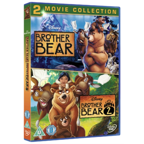 Brother Bear/Brother Bear 2 (UK-import) (DVD)