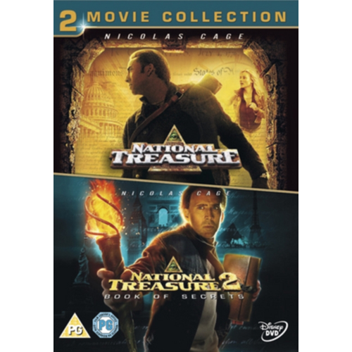 National Treasure 1 And 2 (UK-import) (DVD)