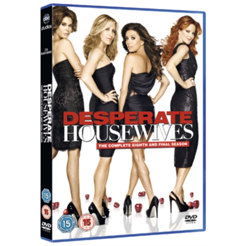 Frustrerte Fruer / Desperate Housewives - Sesong 8 (UK-import) (DVD)