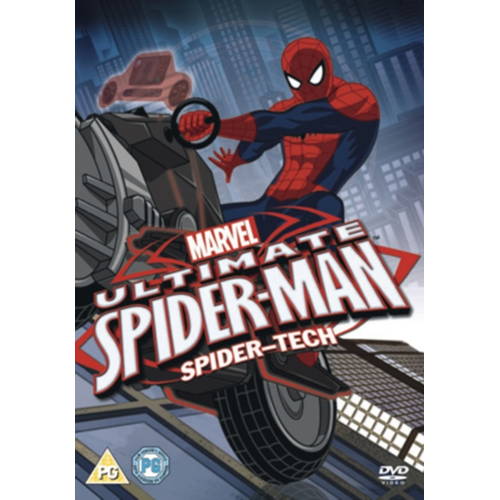 Ultimate Spider-Man: Spider-Tech (UK-import) (DVD)