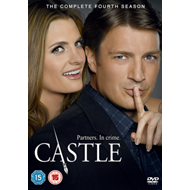 Castle: The Complete Fourth Season (UK-import) (DVD)