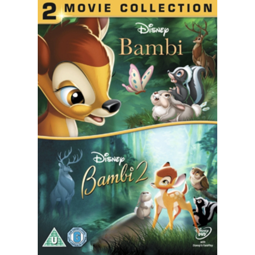 Bambi/Bambi 2 - The Great Prince Of The Forest (UK-import) (DVD)