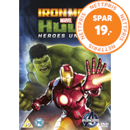 Produktbilde for Iron Man And Hulk: Heroes United (UK-import) (DVD)