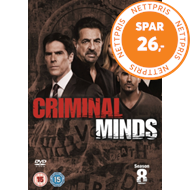 Produktbilde for Criminal Minds - Sesong 8 (UK-import) (DVD)