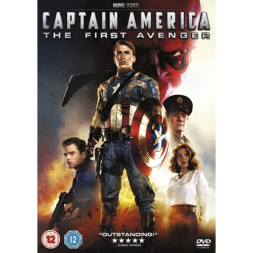 Captain America: The First Avenger (UK-import) (DVD)