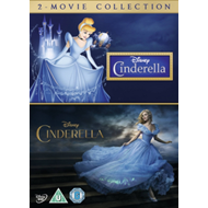 Produktbilde for Cinderella: 2-Movie Collection (UK-import) (DVD)
