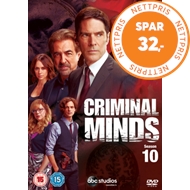 Produktbilde for Criminal Minds - Sesong 10 (UK-import) (DVD)