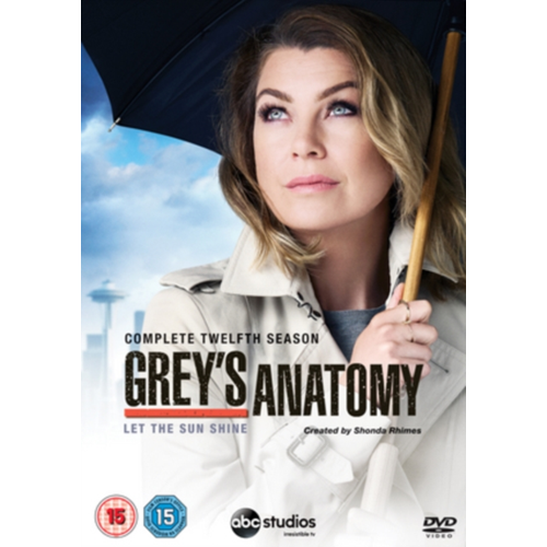 Grey's Anatomy - Sesong 12 (UK-import) (DVD)