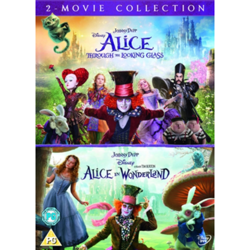 Alice In Wonderland/Alice Through The Looking Glass (UK-import) (DVD)