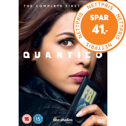 Quantico: The Complete First Season (UK-import) (DVD)