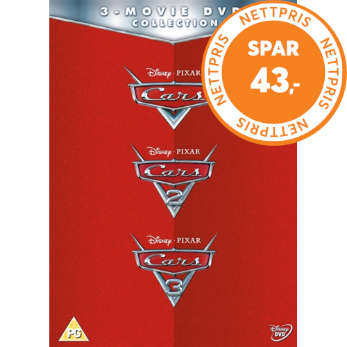 Cars 3 Movie Collection Uk Import Dvd