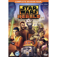 Produktbilde for Star Wars Rebels - Sesong 4 (UK-import) (DVD)