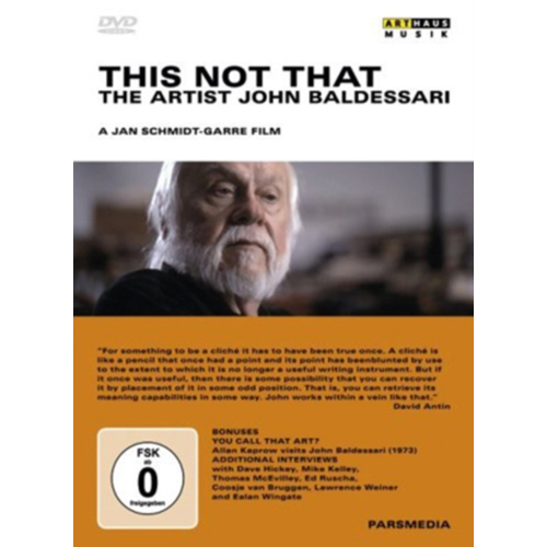 Art Lives: John Baldessari (UK-import) (DVD)
