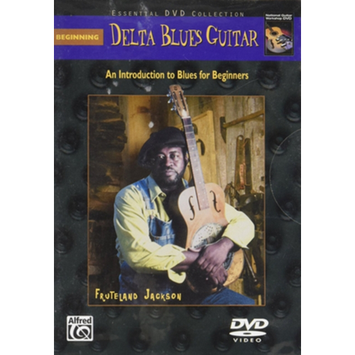 Beginning Delta Blues Guitar (UK-import) (DVD)