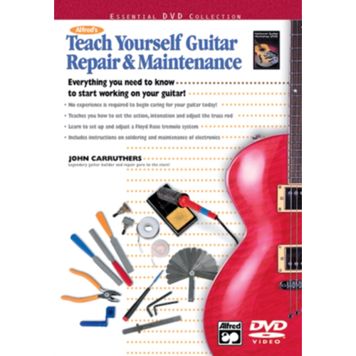 Alfred's Teach Yourself Guitar Repair And Maintenance (UK-import) (DVD)