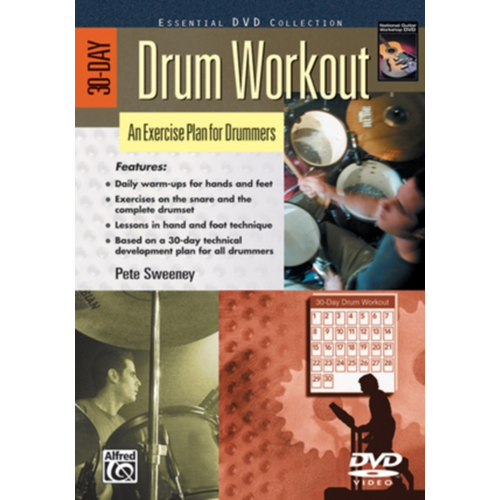 30-Day Drum Workout (UK-import) (DVD)