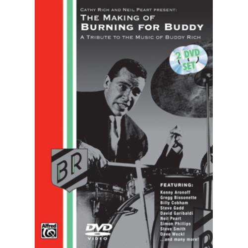 Making Of Burning For Buddy - A Tribute To The Music Of... (UK-import) (DVD)